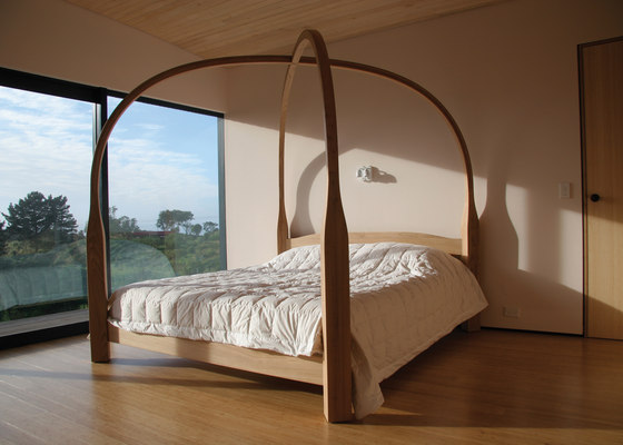 Four Poster Bed by David Trubridge Studio