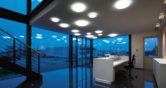 Mondana Recessed ceiling and wall luminaires by RZB - Leuchten
