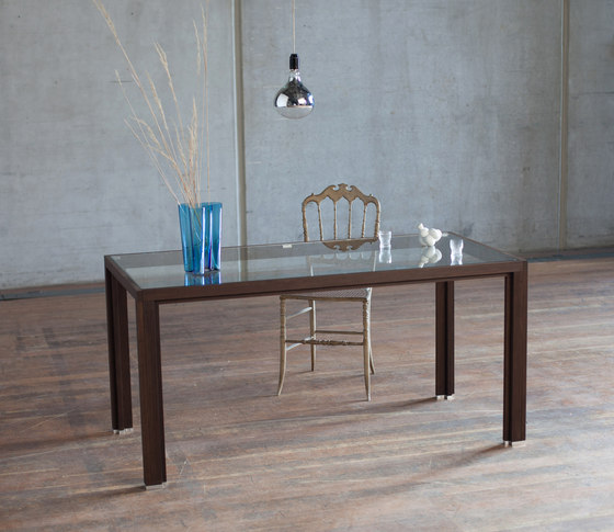 Dining table linoleum dorian oak de Alvari