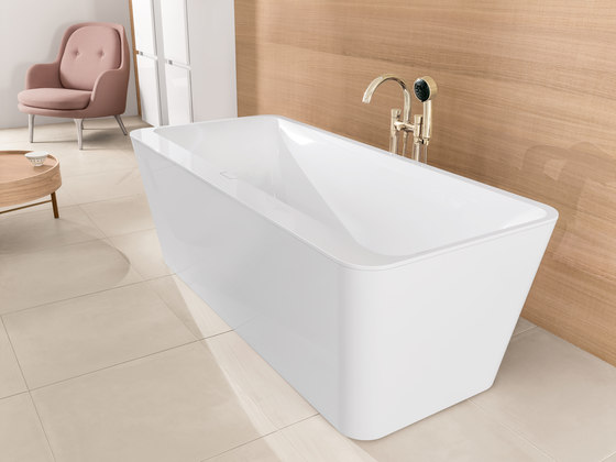 squaro edge 12 bath built in bathtubs from villeroy. Black Bedroom Furniture Sets. Home Design Ideas