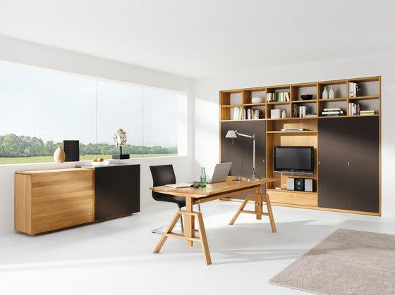 atelier desk by team 7 product. Black Bedroom Furniture Sets. Home Design Ideas