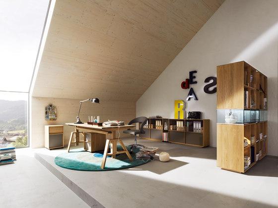 atelier schreibtisch von team 7 produkt. Black Bedroom Furniture Sets. Home Design Ideas
