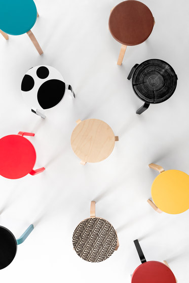 Stool 60 | Special edition by Comme des Garçons by Artek