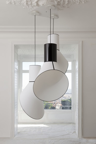 Cargo Pendant light small by designheure