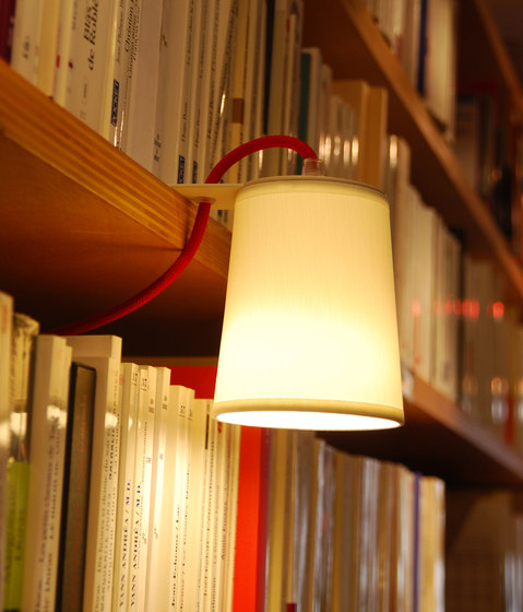 Lightbook Library lamp de designheure