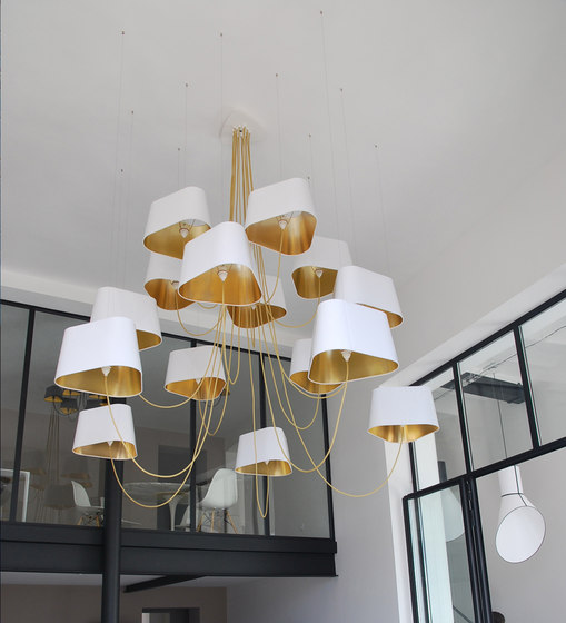 Nuage Suspension XXL de designheure