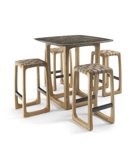 Bungalow Bar Stool de Riva 1920