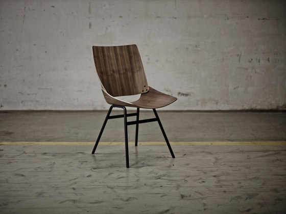 Shell Chair Textile Full by Rex Kralj