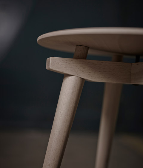 Stool CC Black by Rex Kralj