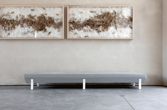 Platform bench 01 by viccarbe
