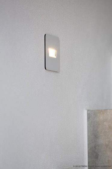 oneLED wall luminaire down by oneLED
