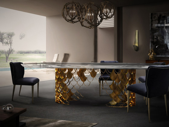 Koi | Dining Table II by BRABBU