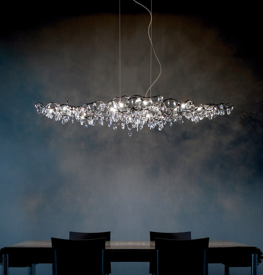 Tiara Sky Pendant light 30 by HARCO LOOR