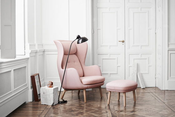 armchairs seating ro jh1 fritz hansen jaime hay n. Black Bedroom Furniture Sets. Home Design Ideas