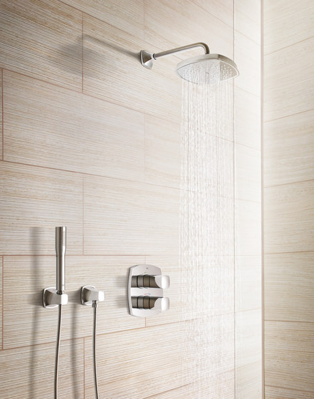 Grandera Two-hole basin mixer by GROHE