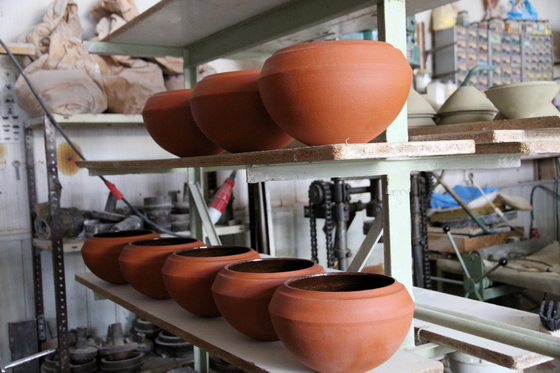 Stacking Vessels | SV India 1 Copper Jade by Utopia and Utility