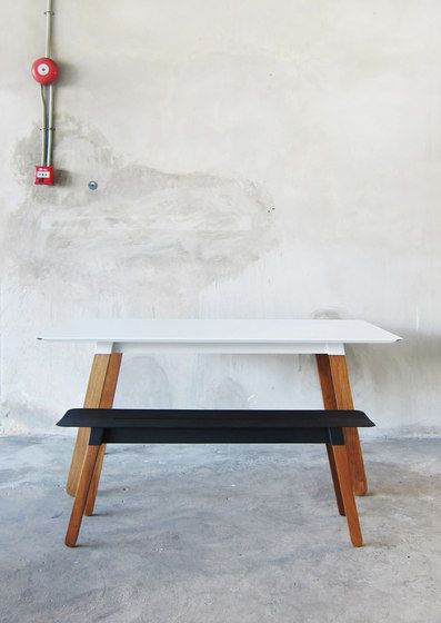 SIM STEEL Bench 120 by TAKEHOMEDESIGN