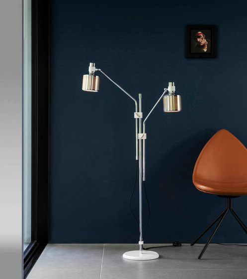 Riddle Double Table Light di Bert Frank