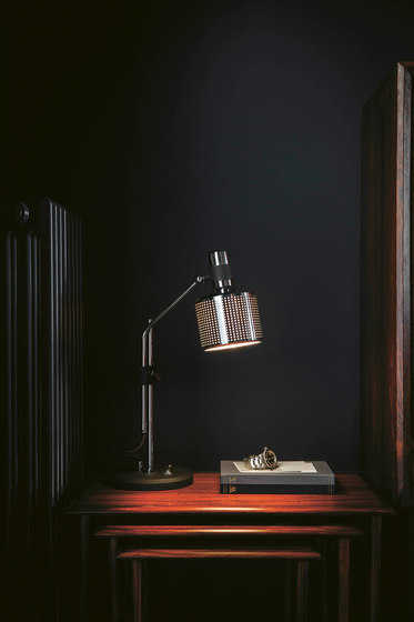 Riddle Double Table Light by Bert Frank