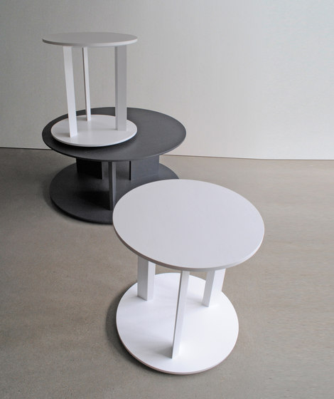 Axis side table by Studio Brovhn
