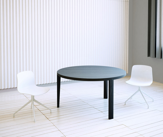 Hexa table round by Studio Brovhn