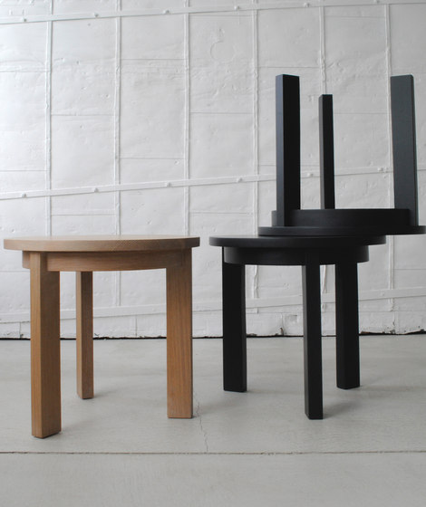 Radius side table square by Studio Brovhn