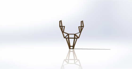 Deer shelf de BEdesign