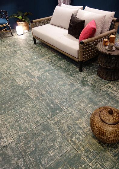 Antique colour flooring di Deesawat
