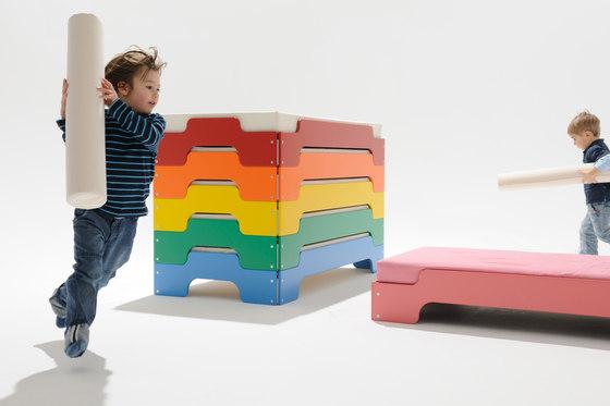 Stacking bed de Müller Möbelwerkstätten