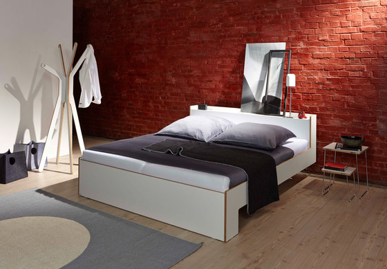 Nook double bed by Müller small living