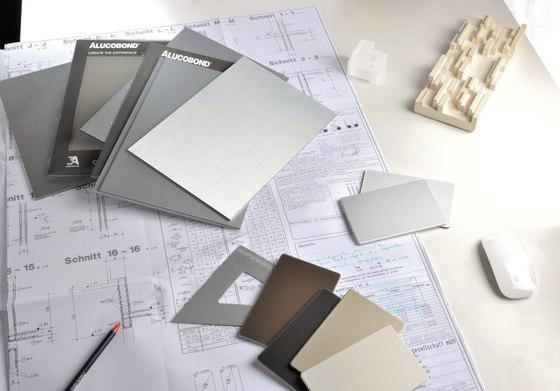 alucobond plaques de m tal de 3a composites architonic. Black Bedroom Furniture Sets. Home Design Ideas