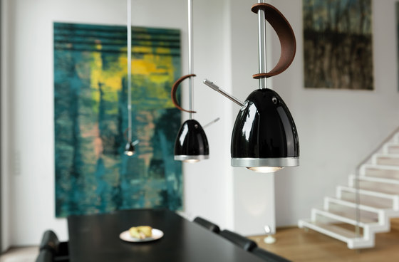 Ylux pendant light with 3-phase adapter by less'n'more