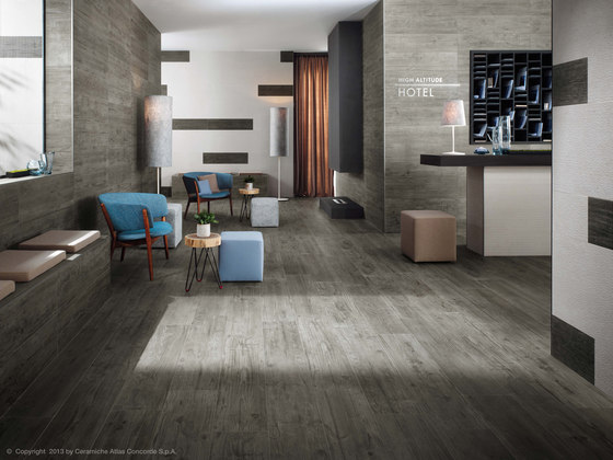 Axi Brown Chestnut Mosaico 3D by Atlas Concorde