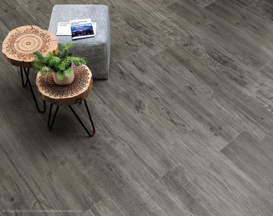 Axi Grey Timber Mosaico 3D by Atlas Concorde