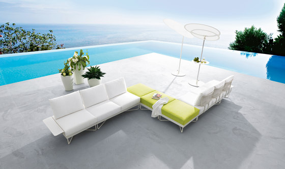 Coral Reef 9870F dining table de ROBERTI outdoor pleasure