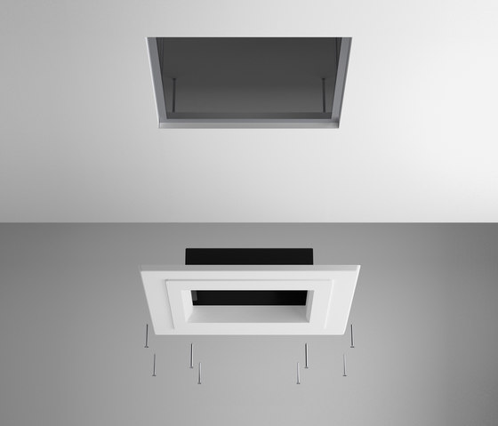 Flap 8851 Recessed ceiling lamp by Vibia