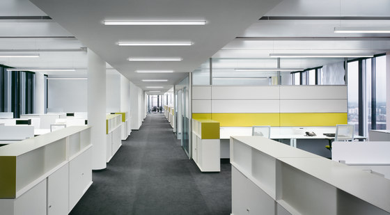 METRON LED mounted Lamps with downlight by RIBAG