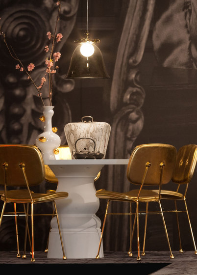 bell lamp white big by moooi