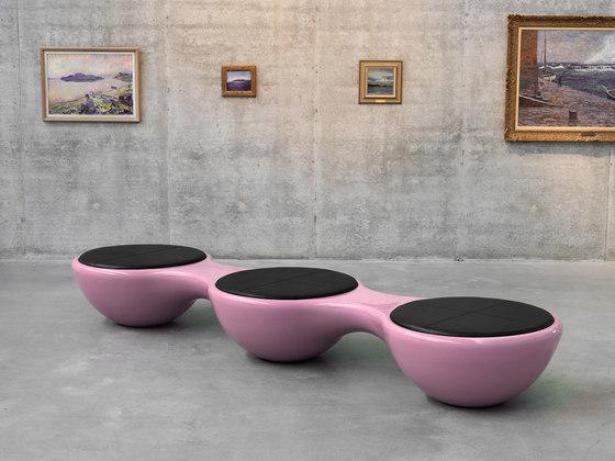 Union Bench Leather 2 Seater by Jangir Maddadi Design Bureau