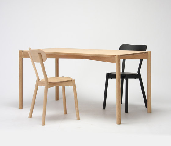 Castor Table 75 by Karimoku New Standard