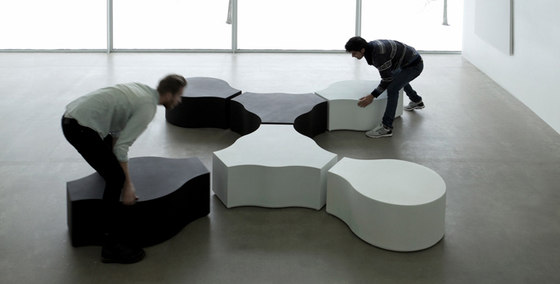 Compound Foam von Jangir Maddadi Design Bureau