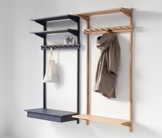 unit coat rack built in wardrobes from stattmann neue moebel architonic. Black Bedroom Furniture Sets. Home Design Ideas