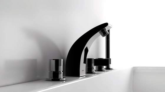 180 1010 Single lever basin mixer without pop up waste de Steinberg