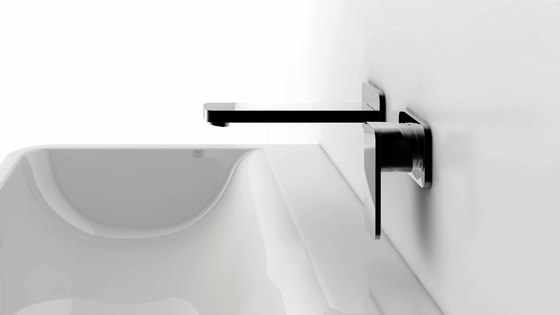 "235 1200 Exposed single lever mixer ½"" for shower by Steinberg"