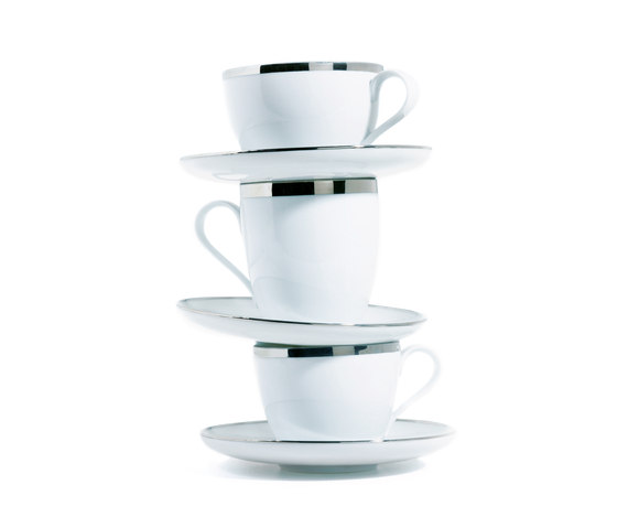 MY CHINA! TREASURE PLATINUM Cappuccino cup by FÜRSTENBERG