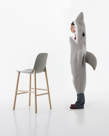 Sharky chair by Kristalia