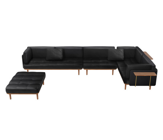 Utility Sofa Three Sides by Stellar Works