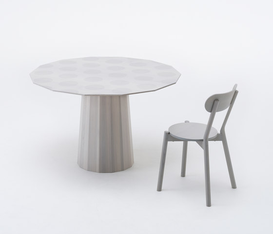 Colour Wood Dining Dot by Karimoku New Standard