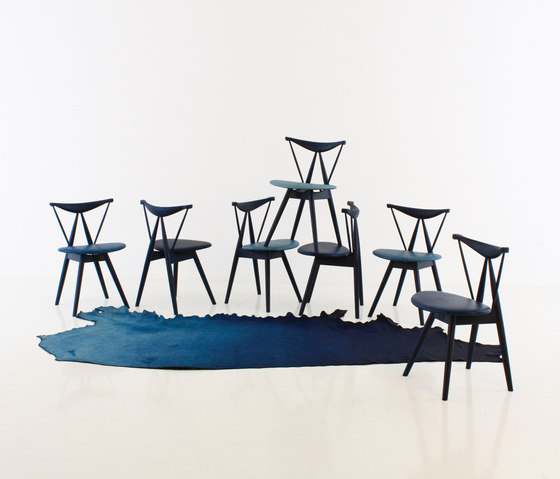 Piano Chair Indigo von Stellar Works