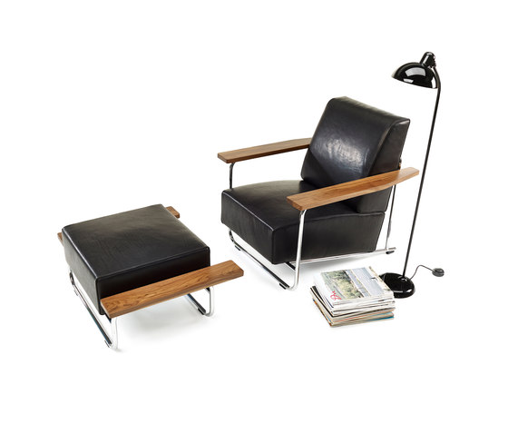 Lovell Easy Chair Steel by Neutra by VS